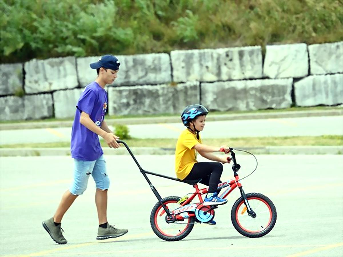 ずっと練習しても乗れなかった知的障害の娘が自転車に乗れた