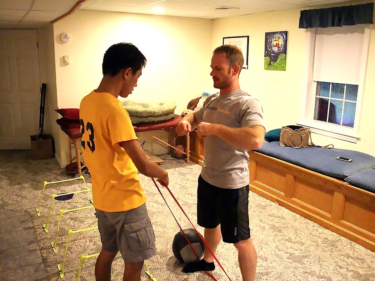 発達障害の方それぞれに合わせた「適応運動」個人トレーニング p10