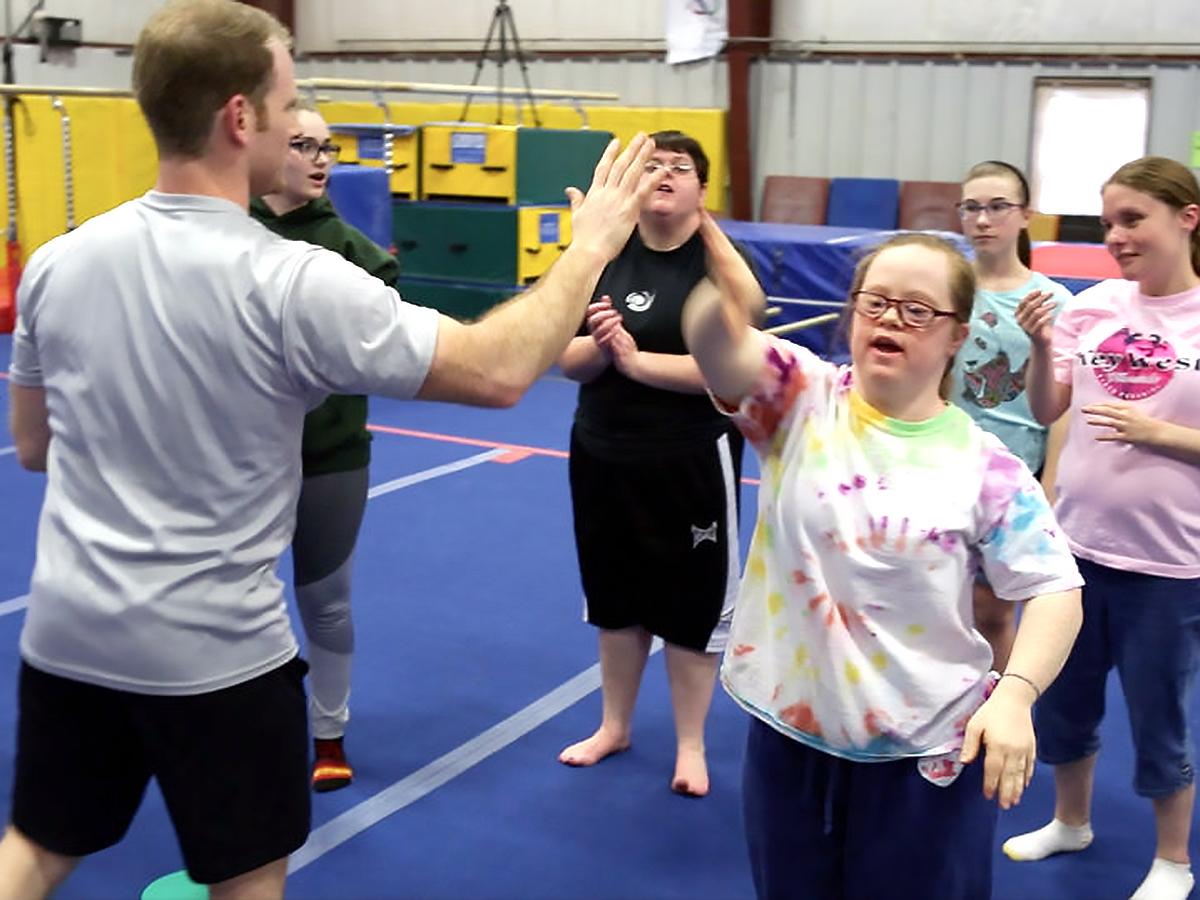 発達障害の方それぞれに合わせた「適応運動」個人トレーニング p11