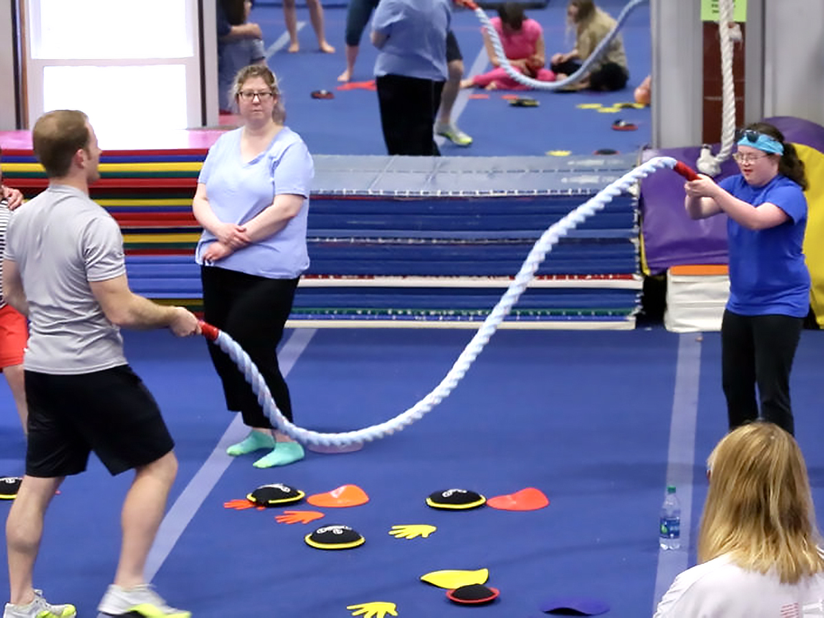 発達障害の方それぞれに合わせた「適応運動」個人トレーニング p12