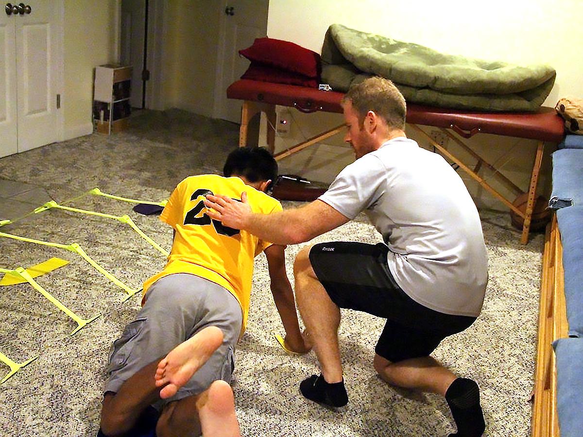 発達障害の方それぞれに合わせた「適応運動」個人トレーニング p3