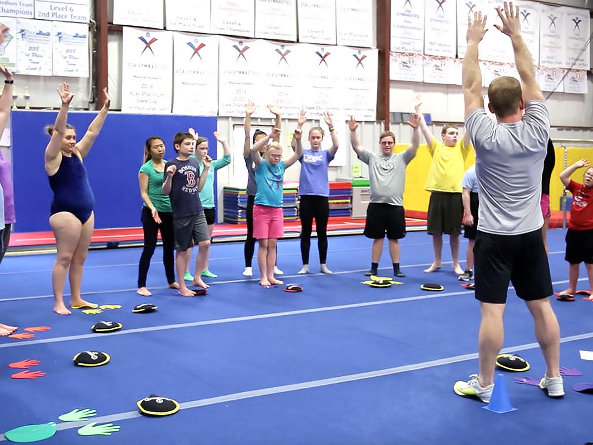 発達障害の方それぞれに合わせた「適応運動」個人トレーニング p8