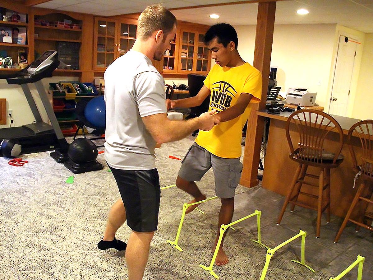 発達障害の方それぞれに合わせた「適応運動」個人トレーニング