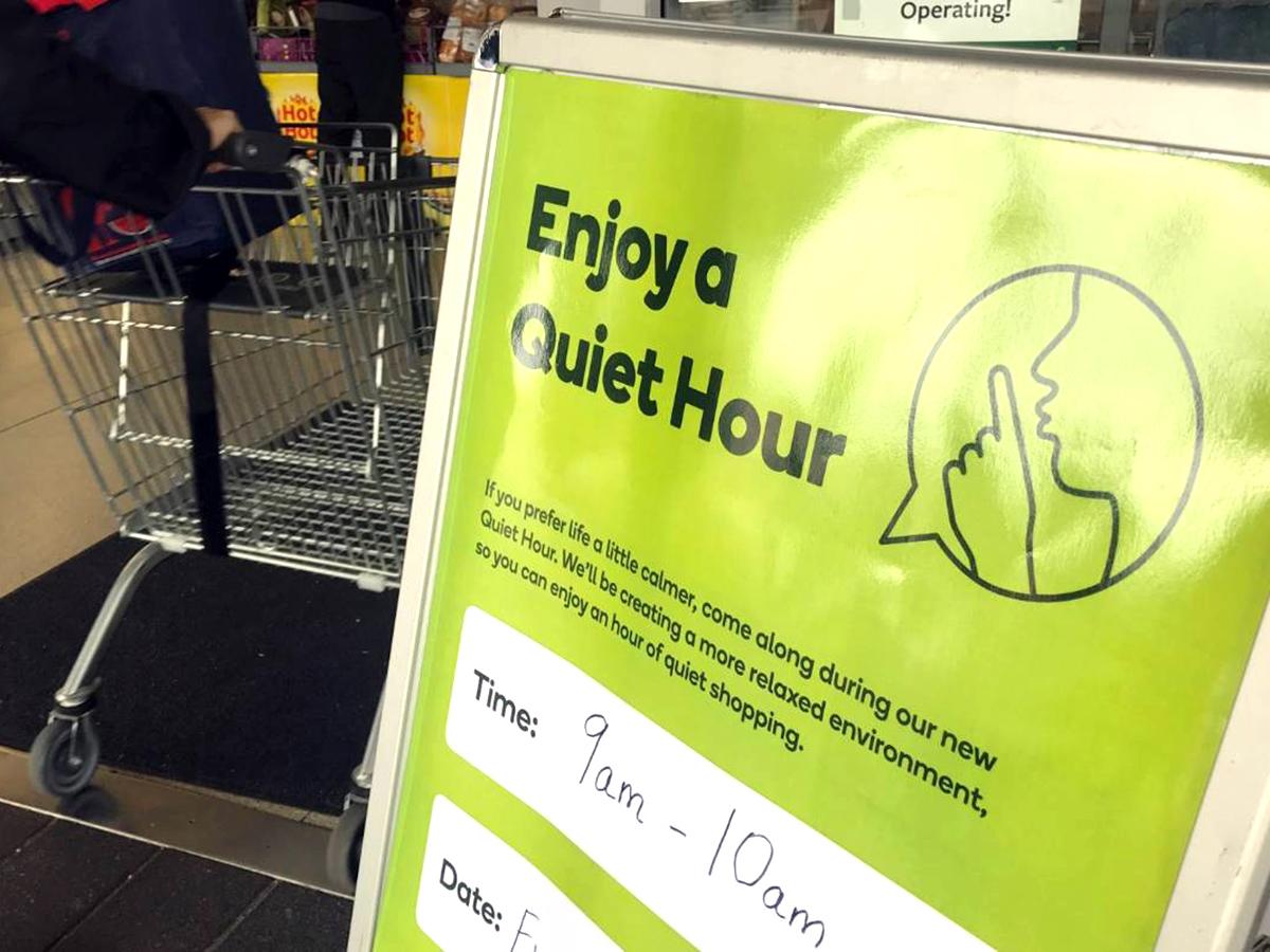 発達障害の子の母の活動で、スーパーでの「静かな時間」が実現 q1