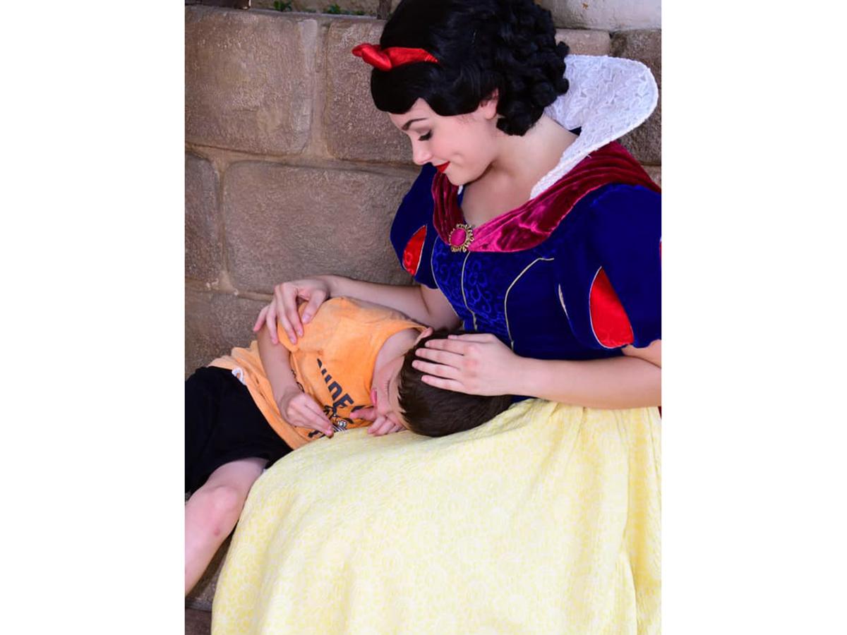 発達障害の息子に素晴らしい対応をしてくれた白雪姫はまるで天使 s7
