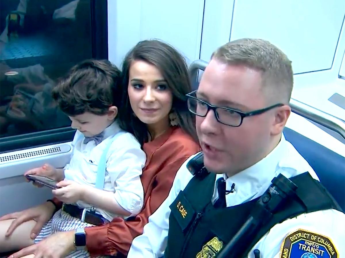 発達障害の少年と母親は助けてくれたあの鉄道警察官に再び会えた t10-1