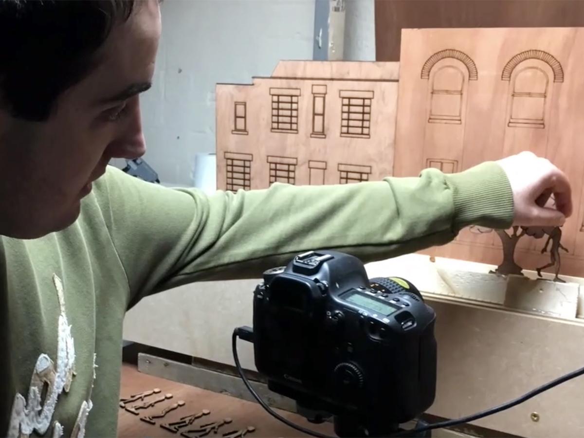 発達障害の人たちが学ぶストップモーションのアニメスタジオ